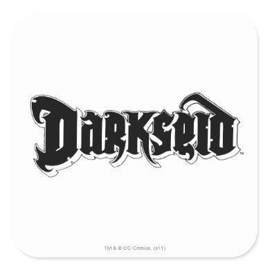 Darkseid Logo 2 Square Sticker
