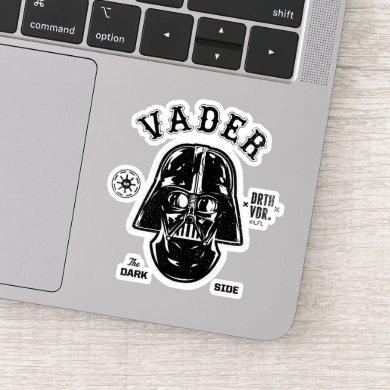 Darth Vader Dark Side Badge Sticker