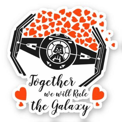 Darth Vader - Together We Can Rule The Galaxy Sticker