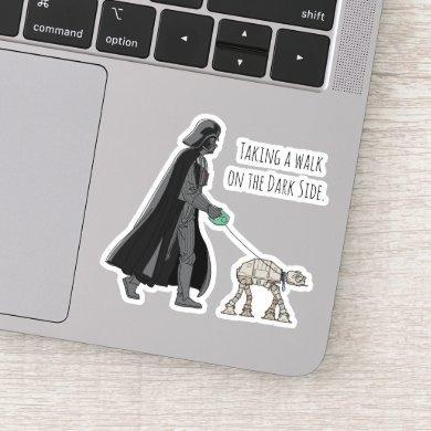 Darth Vader Walking Pet AT-AT Sticker