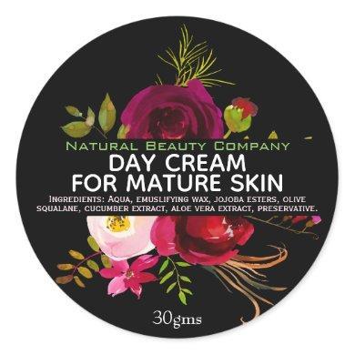Day Cream For Mature Skin Label