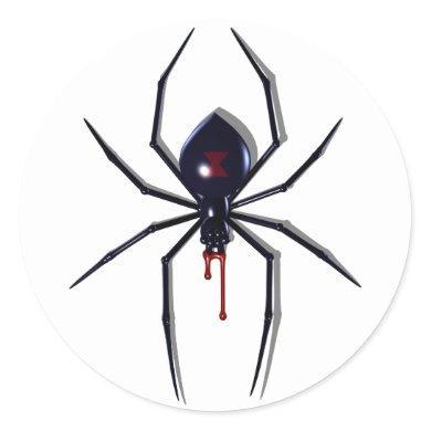 Deadly Spider Bite Stickers