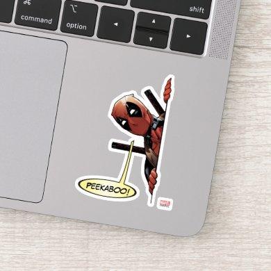 Deadpool Peekaboo Sticker