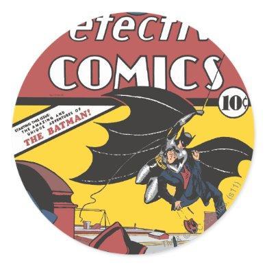 Detective Comics #27 Classic Round Sticker