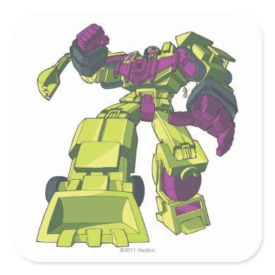 Devastator 3 square sticker