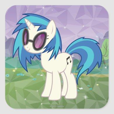 DJ Pon-3 Square Sticker