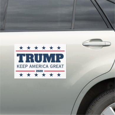 Donald Trump 2020 election Keep America Great big Car Magnet
