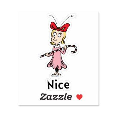Dr. Seuss | Cindy-Lou Who is Nice Sticker