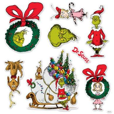 Dr. Seuss   How the Grinch Stole Christmas Sticker