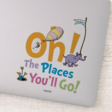Dr. Seuss | Oh, The Places You'll Go! Sticker