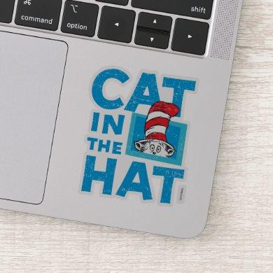 Dr. Seuss | The Cat in the Hat Logo - Vintage Sticker