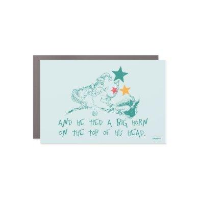 Dr. Seuss | The Grinch and Max Car Magnet