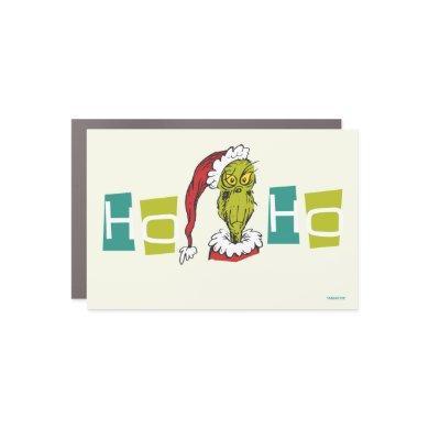 Dr. Seuss | The Grinch - Ho Ho Ho Car Magnet