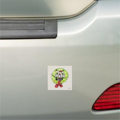 Dr Seuss | The Grinch | Who-ville Christmas Joy Car Magnet
