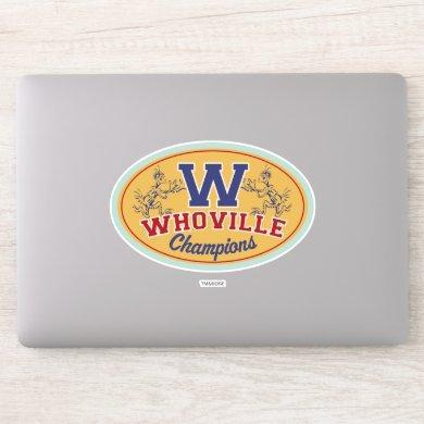 Dr. Seuss | Who-ville Champions Sticker
