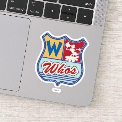 Dr. Seuss | Who-ville - Whos Crest Sticker