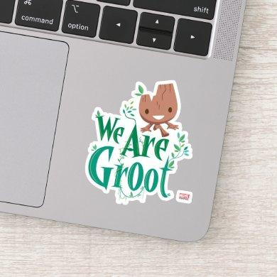 Earth Day Baby Groot Sticker
