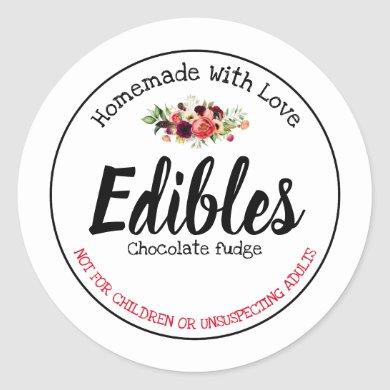 Edibles Label
