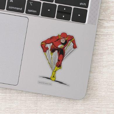 Flash Runs Forward Sticker