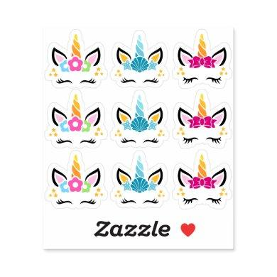 Funny And Cute Unicorn Stickers