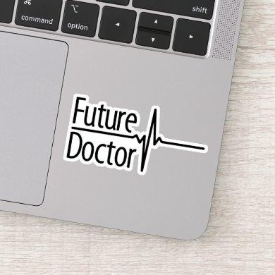 Future Doctor - EKG Sticker