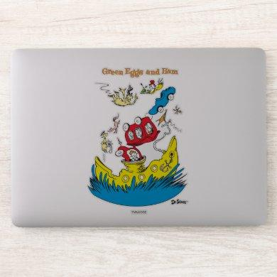 Green Eggs and Ham | I Do Not Like Them Anywhere Sticker