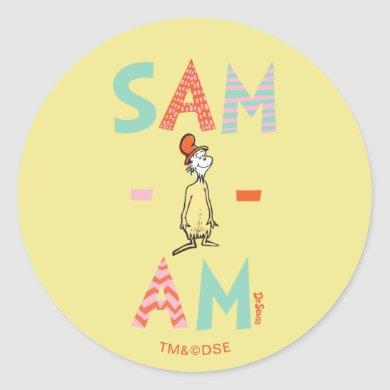 Green Eggs and Ham | Sam-I-Am Classic Round Sticker