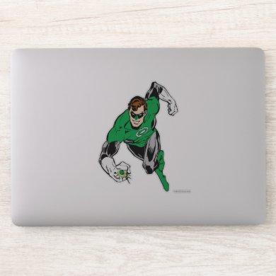 Green Lantern Fly Forward Sticker