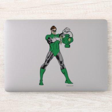 Green Lantern with Lantern Sticker