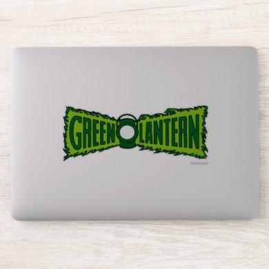 Green Logo Flames Sticker
