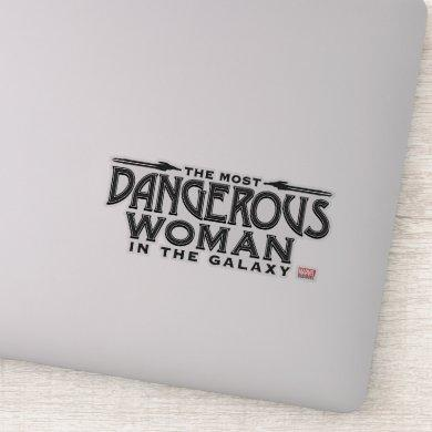 Guardians of the Galaxy | Dangerous Woman Sticker