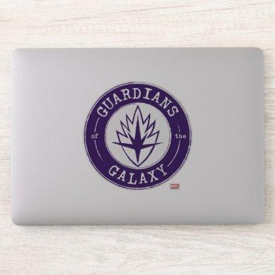 Guardians of the Galaxy | Round Vintage Logo Sticker