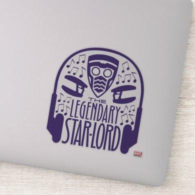 Guardians of the Galaxy | The Legendary Star-Lord Sticker