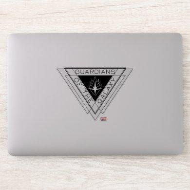 Guardians of the Galaxy | Triangle Logo Badge Sticker