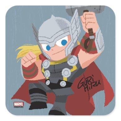 Guri Hiru Thor Square Sticker
