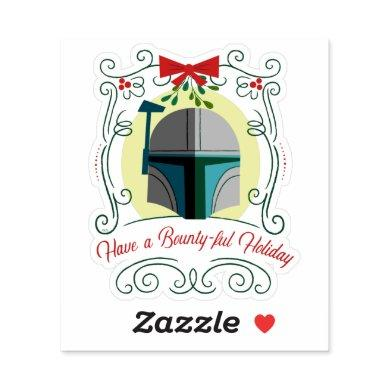 Have a Bounty-ful Holiday Sticker