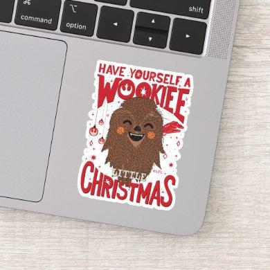 Have Yourself A Wookiee Little Christmas Sticker