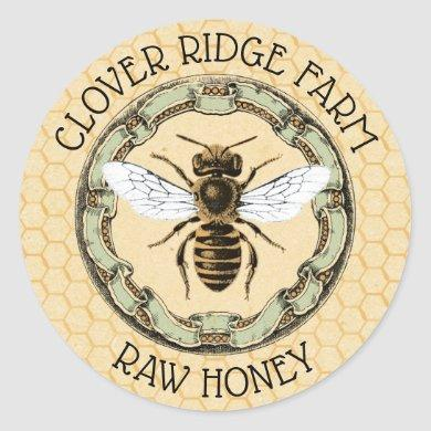 Honey Bee Farm Beekeeper Label