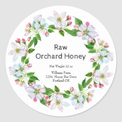 Honey Jar  Watercolor Label | Orchard Honey
