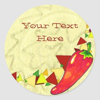 Hot Pepper Stickers