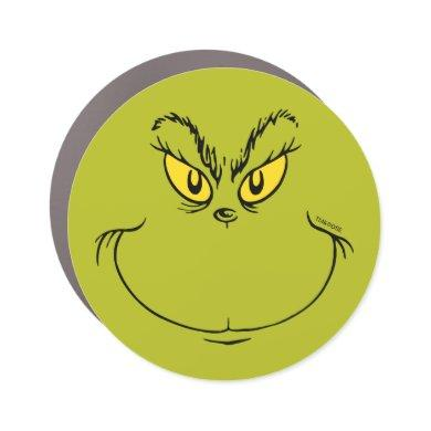 How the Grinch Stole Christmas Face Car Magnet
