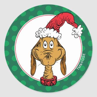 How the Grinch Stole Christmas | Max is Nice Classic Round Sticker