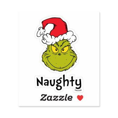 How the Grinch Stole Christmas | Naughty Grinch Sticker