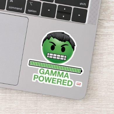 Hulk Gamma Powered Emoji Sticker