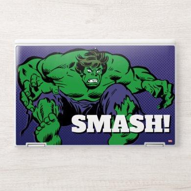 Hulk Retro Jump HP Laptop Skin