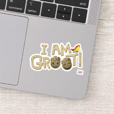 """I Am Groot"" Emoji Sticker"
