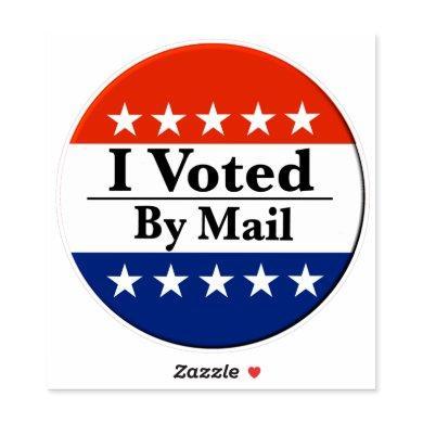 I Voted By Mail Sticker