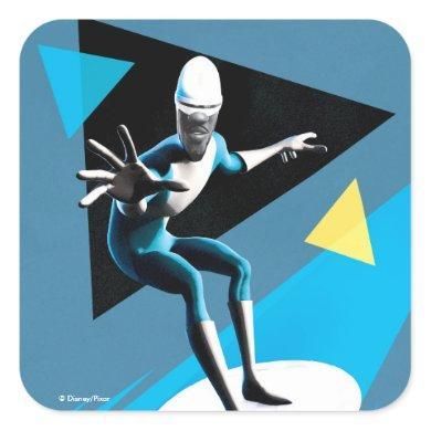 Incredibles 2 | Frozone Square Sticker