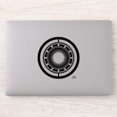 Iron Man Arc Icon Sticker