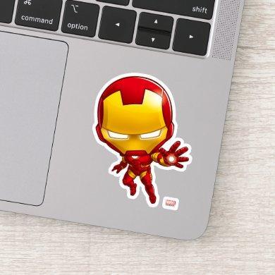 Iron Man Stylized Art Sticker